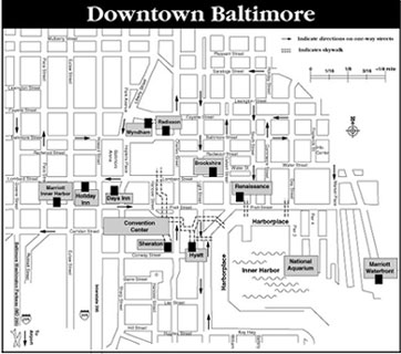 small version of Baltimore map